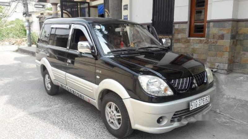 Bán Mitsubishi Jolie đời 2005, màu đen xe gia đình-0