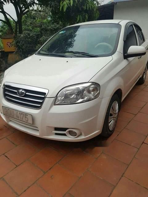 Bán ô tô Daewoo Gentra 2009, màu trắng, nhập khẩu giá cạnh tranh-0
