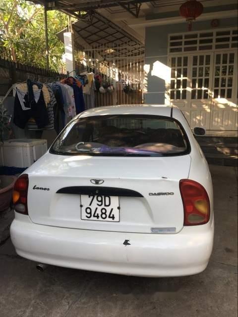 Lên đời xe bán Daewoo Lanos sản xuất 2003, màu trắng, nhập khẩu-4