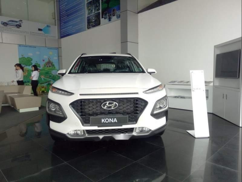 Bán Hyundai Kona đời 2019, màu trắng, 615 triệu-3