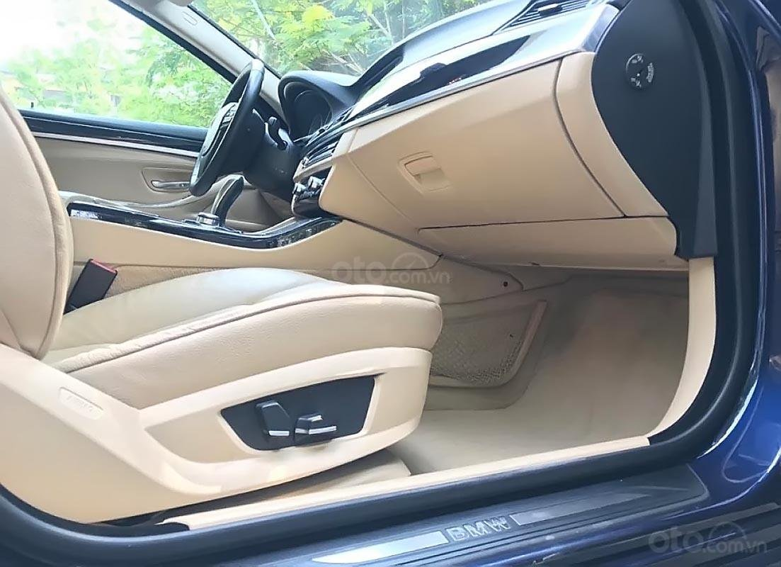 Bán BMW 5 Series 528i 2011, màu xanh lam, nhập khẩu-4