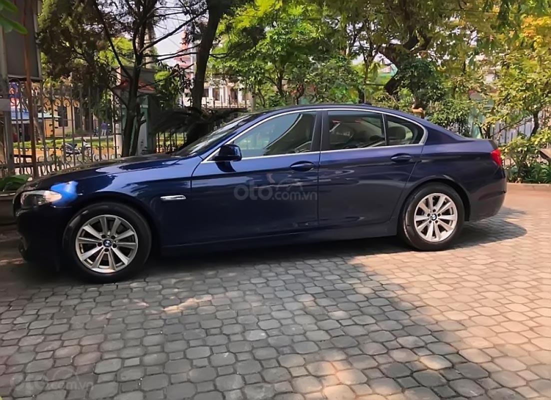 Bán BMW 5 Series 528i 2011, màu xanh lam, nhập khẩu-0