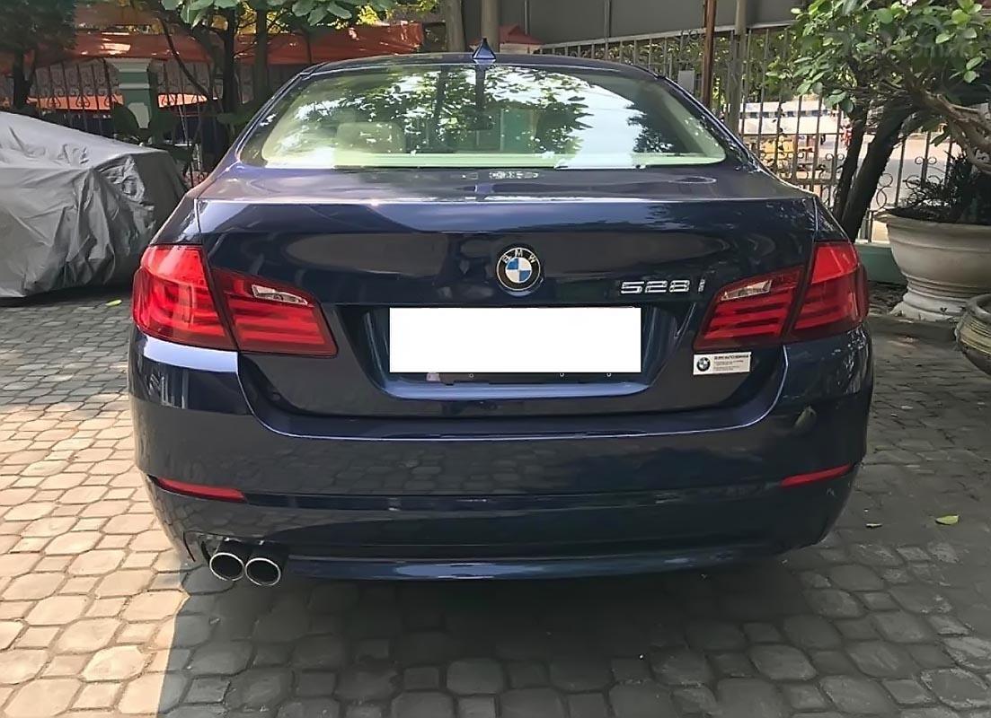 Bán BMW 5 Series 528i 2011, màu xanh lam, nhập khẩu-1