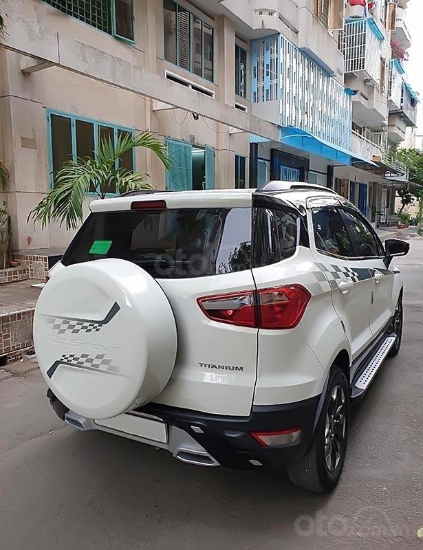 Bán Ford EcoSport sản xuất 2017, màu trắng, số tự động-1