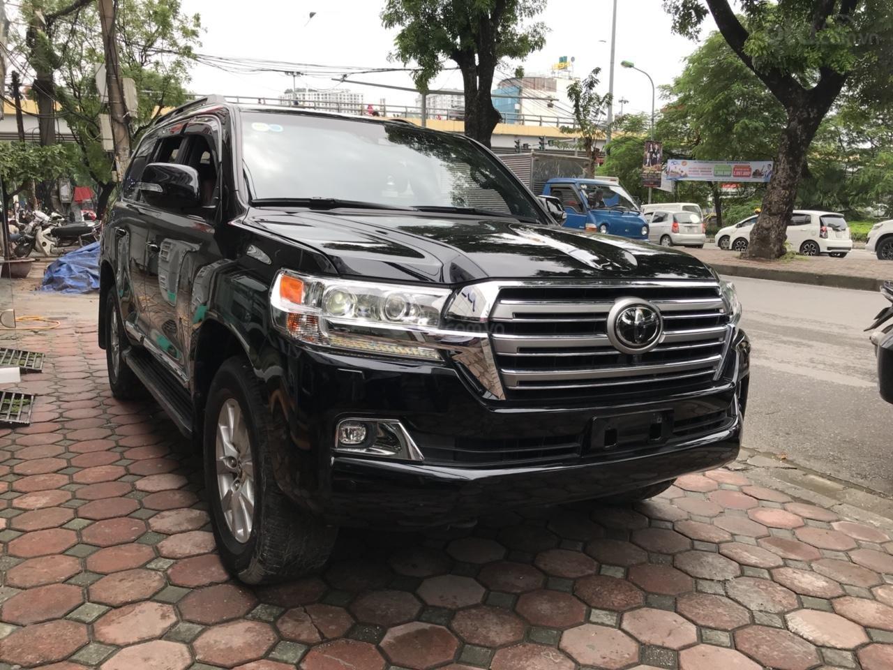 MT Auto bán Toyota Land Cruiser V8 5.7 SX 2016, xe mới 100% màu đen, xe nhập Mỹ nguyên chiếc - LH em Hương 0945392468-1