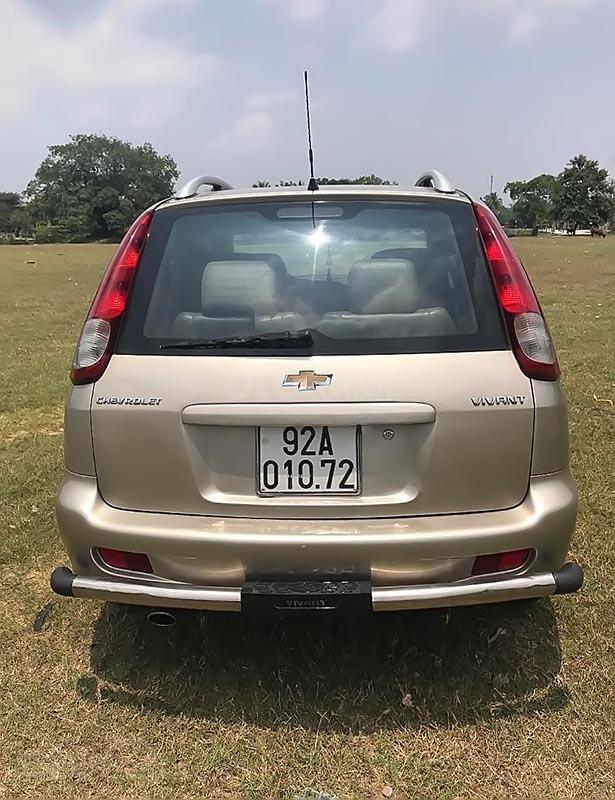 Bán xe Chevrolet Vivant CDX 2.0 đời 2008, màu vàng-1
