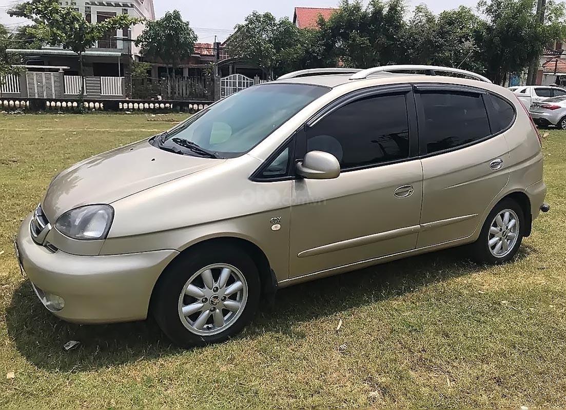 Bán xe Chevrolet Vivant CDX 2.0 đời 2008, màu vàng-0