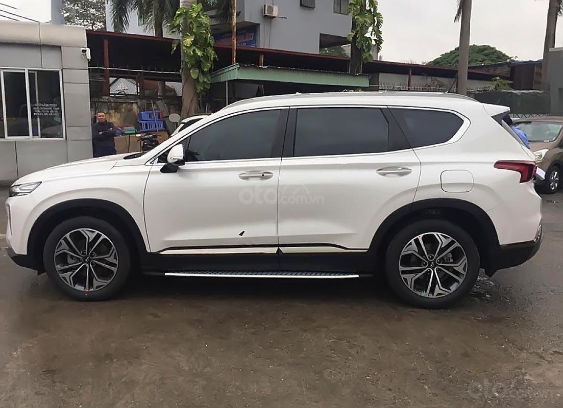 Bán ô tô Hyundai Santa Fe 2.4L HTRAC năm sản xuất 2019, màu trắng-1