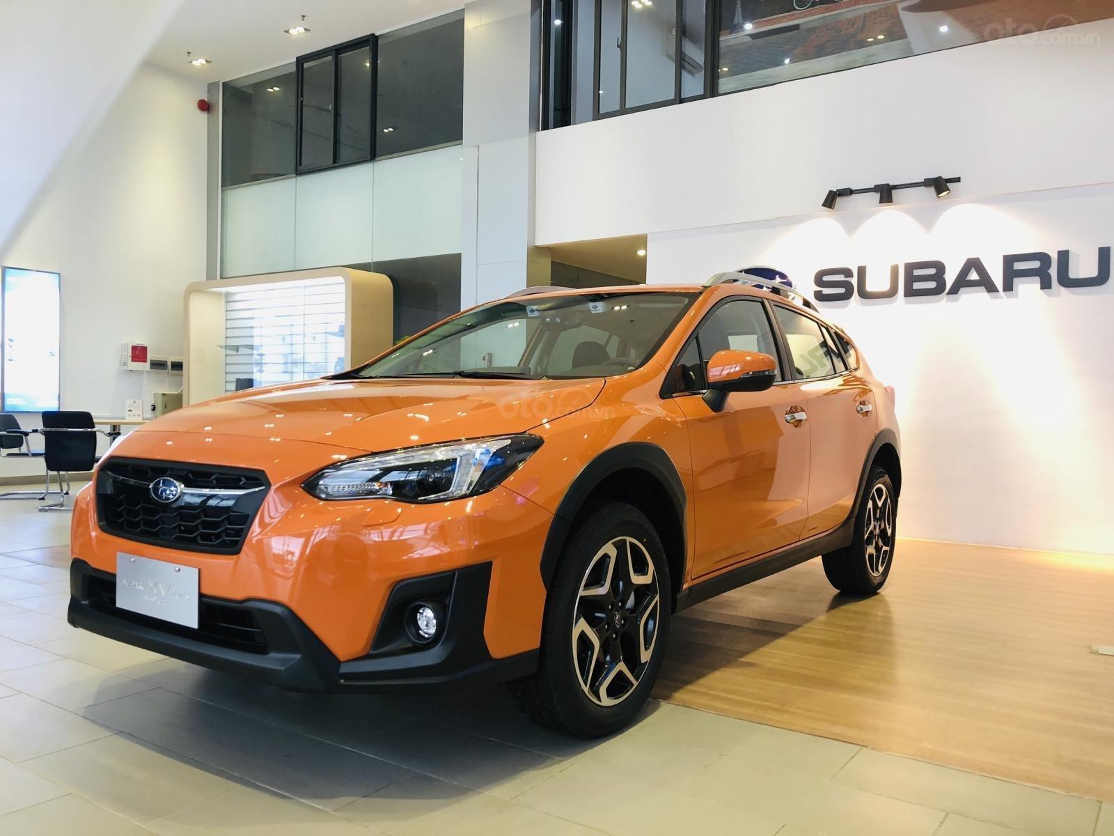 Bán Subaru XV EyeSight 2019, màu cam, nhập khẩu nguyên chiếc từ Nhật Bản-0