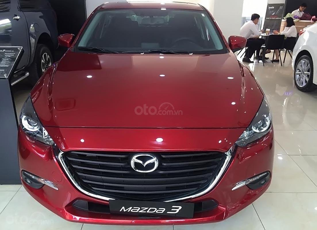 Bán Mazda 3 năm sản xuất 2019, màu đỏ, giá chỉ 667 triệu-0
