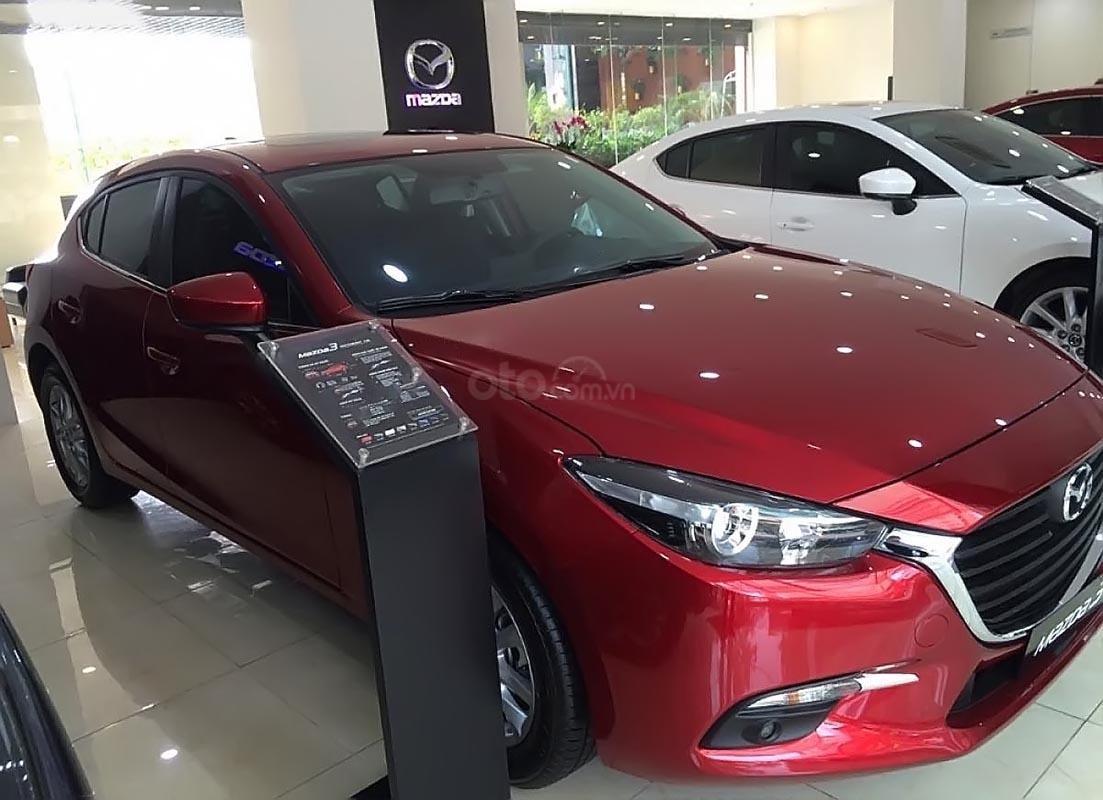 Bán Mazda 3 năm sản xuất 2019, màu đỏ, giá chỉ 667 triệu-4