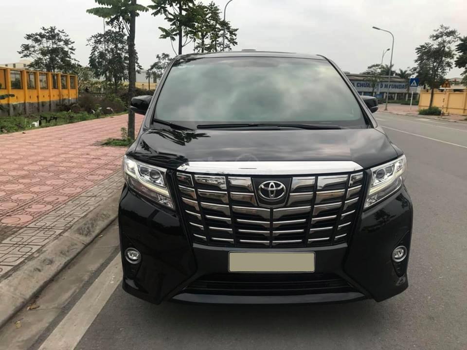 Bán Toyota Alphard Excutive Lounge màu đen, model 2016, call ngay 0989866544 (2)