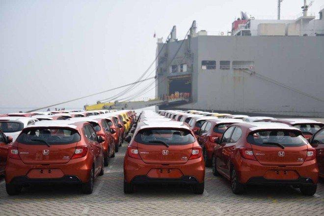 """Honda Brio """"ồ ạt"""" cập cảng Philippines, sẽ về Việt Nam trong nay mai? - Ảnh 1."""