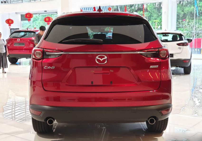 Lộ thêm trang bị Mazda CX-8 sắp bán tại Việt Nam a7