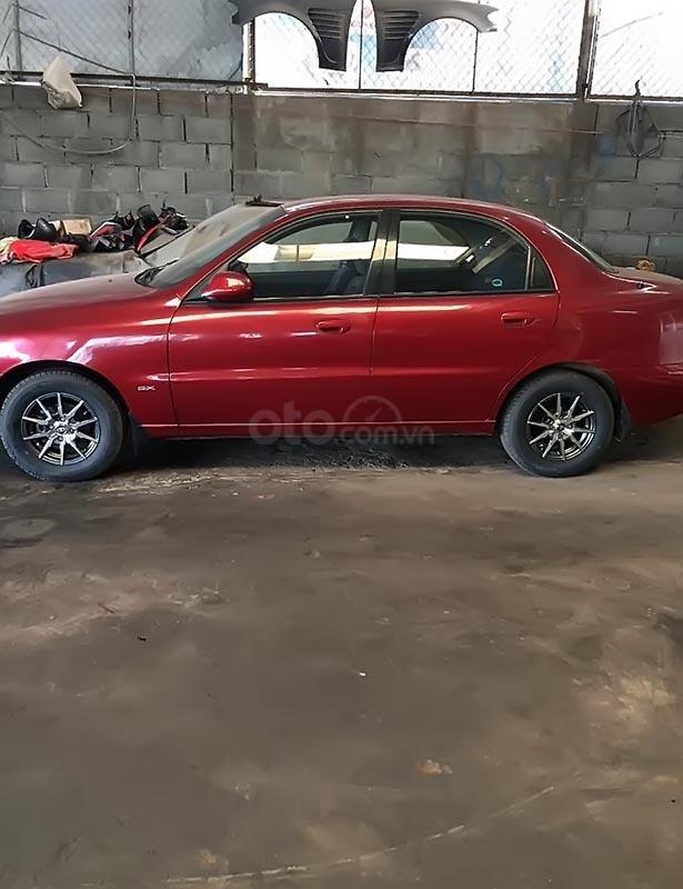 Bán Daewoo Lanos đời 2002, màu đỏ, xe còn mới toanh, sơn zin 90%-0