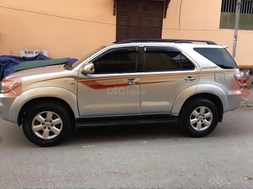 Chính chủ cần bán xe Fortuner 2009 màu bạc, đi 121.000 km-1