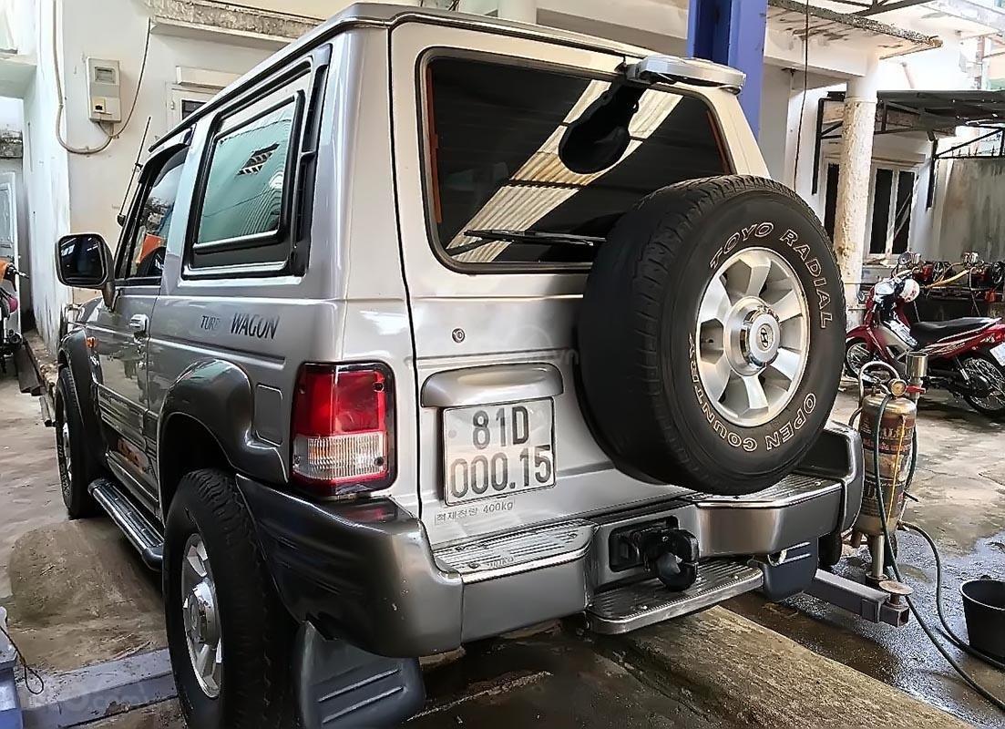 Bán Hyundai Galloper sản xuất 2003, màu bạc, đăng ký lần đầu 2009 (2)