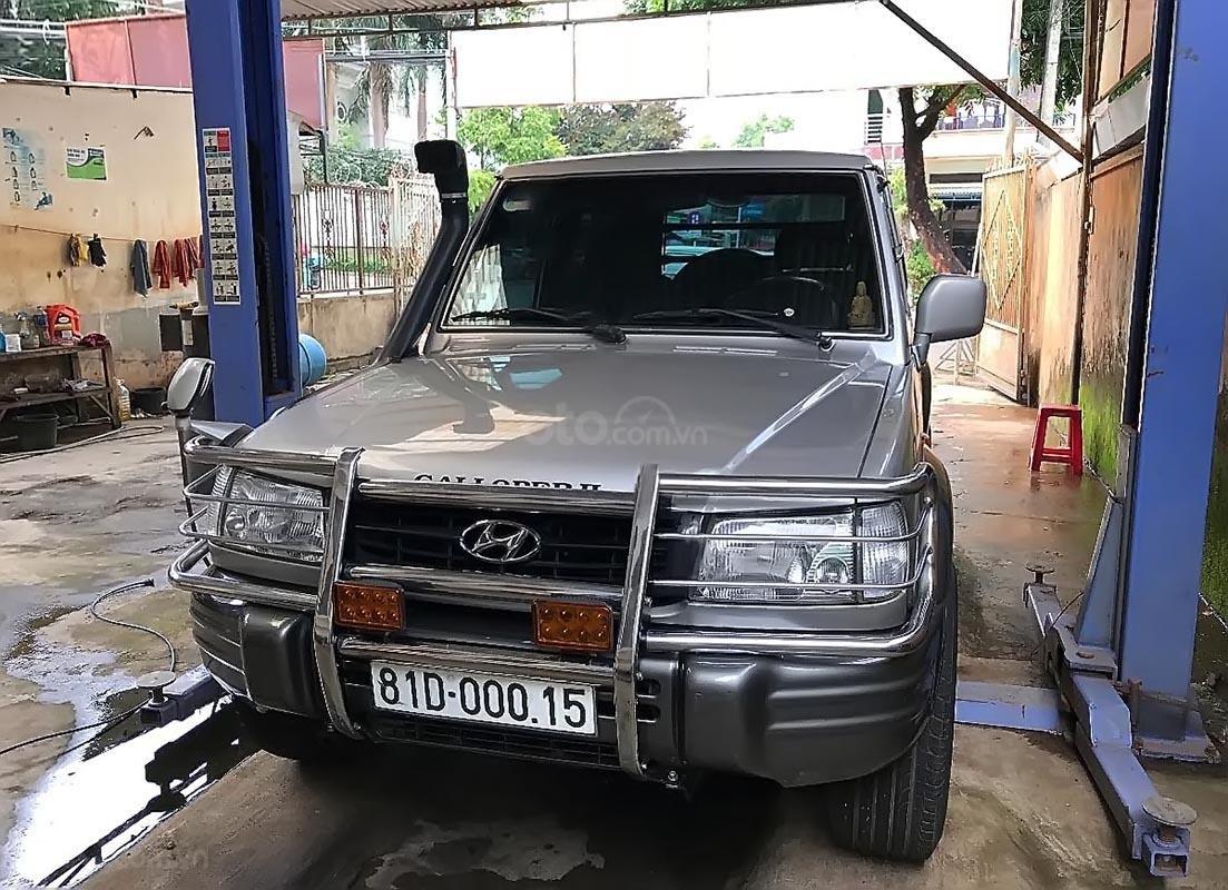Bán Hyundai Galloper sản xuất 2003, màu bạc, đăng ký lần đầu 2009 (1)