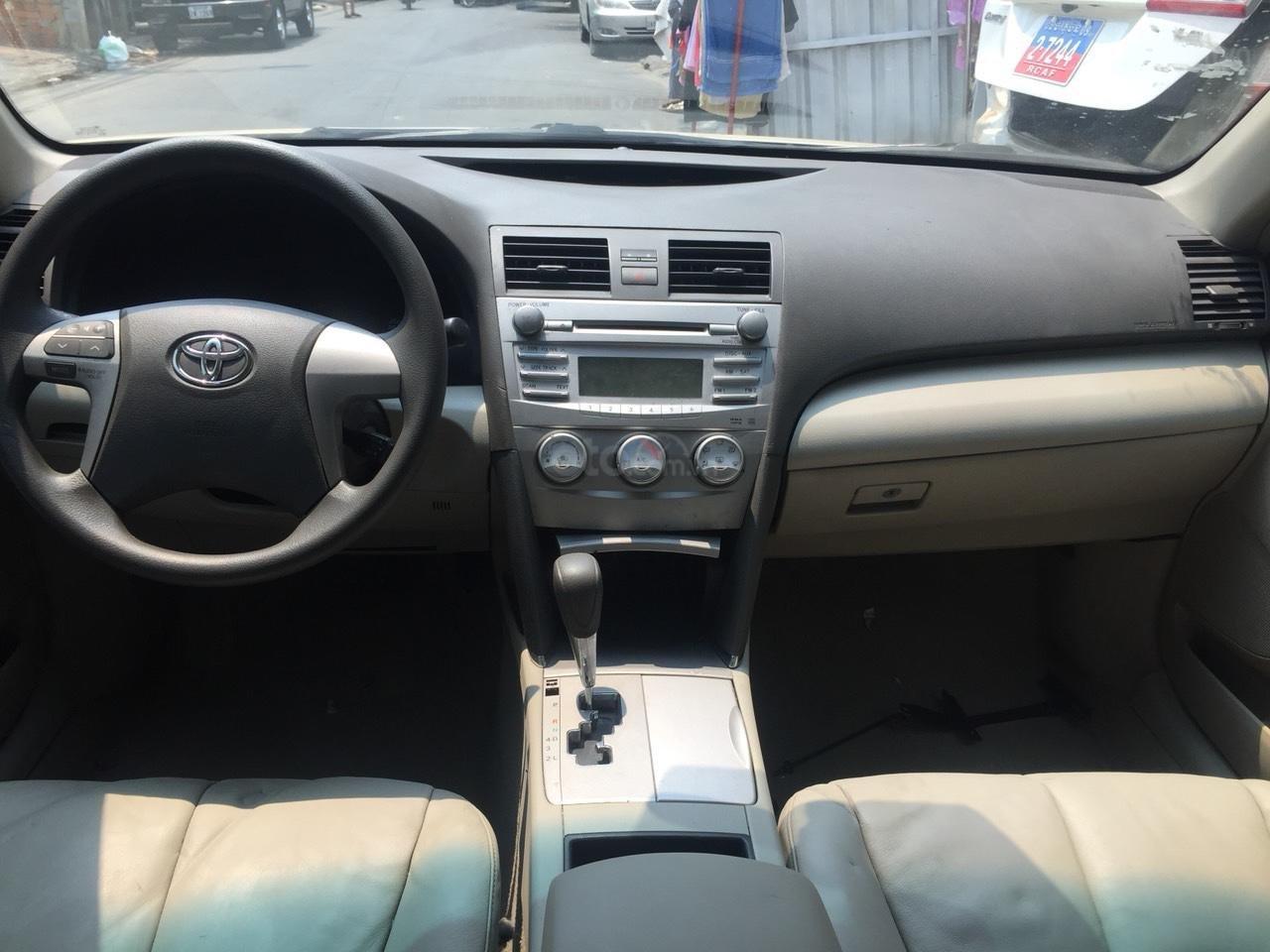 Bán ô tô Toyota Camry LE đời 2012, màu nâu, nhập khẩu-4