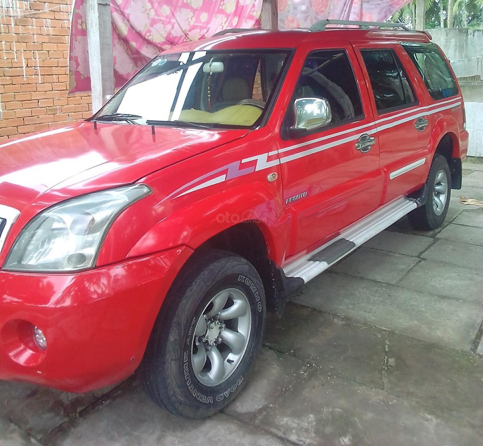 Bán Mekong Pronto năm 2009, màu đỏ còn mới, giá 145tr-4
