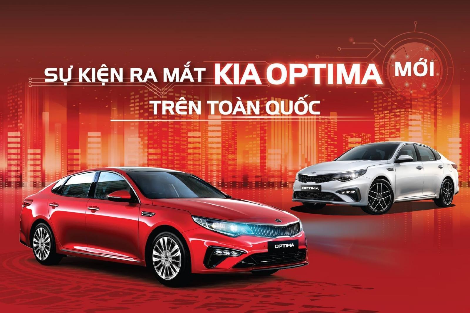 Kia Optima 2019 sẽ chính thức ra mắt thị trường Việt vào ngày 20/4.