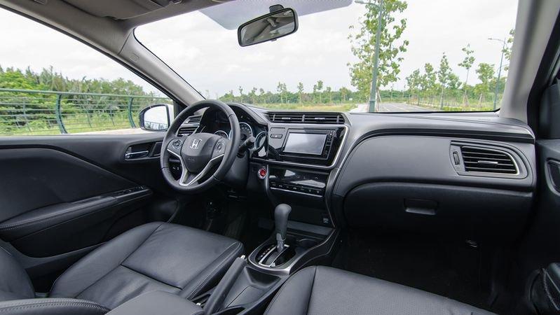 Nội thất Honda City 2018 nhiều công nghệ hiện đại
