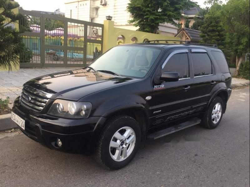 Cần bán Ford Escape 2.3AT năm sản xuất 2007, màu đen-1