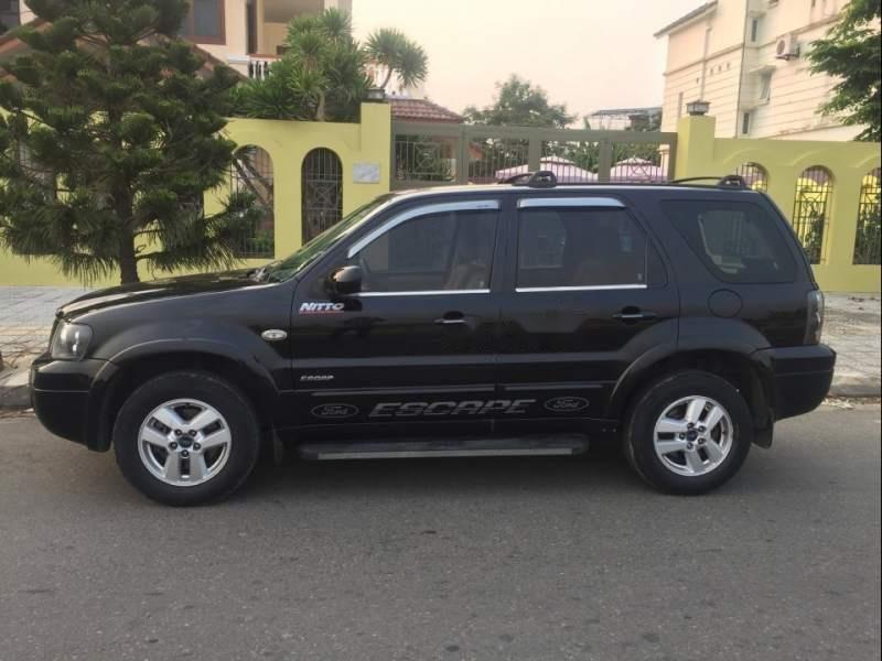Cần bán Ford Escape 2.3AT năm sản xuất 2007, màu đen-0