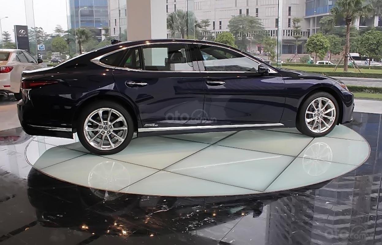 Bán xe Lexus LS 500h năm sản xuất 2018, màu xanh lam, xe nhập-0