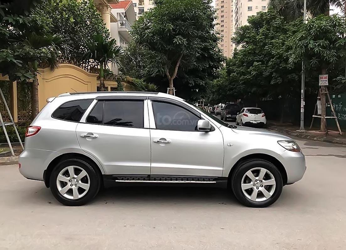 Cần bán xe Hyundai Santa Fe đời 2007, màu bạc chính chủ  (1)