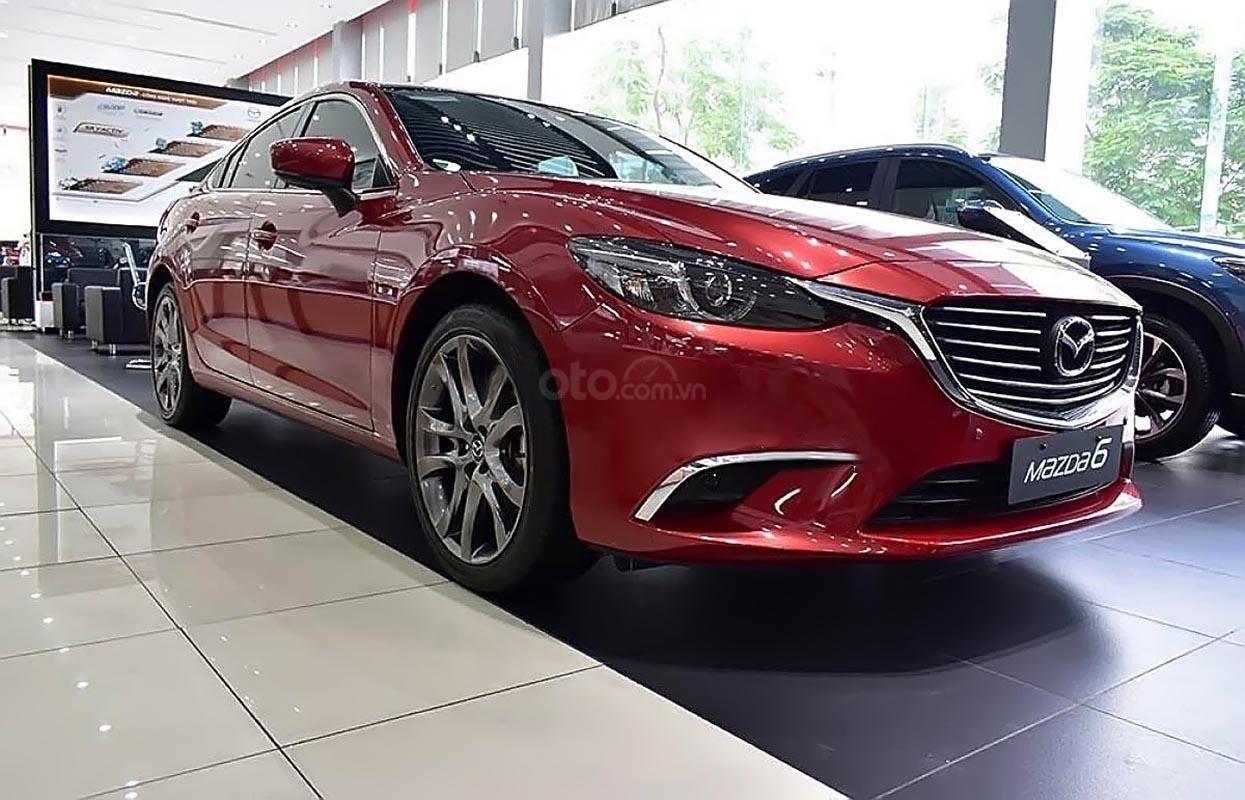 Bán Mazda 6 sản xuất năm 2019, màu đỏ, 790 triệu-0