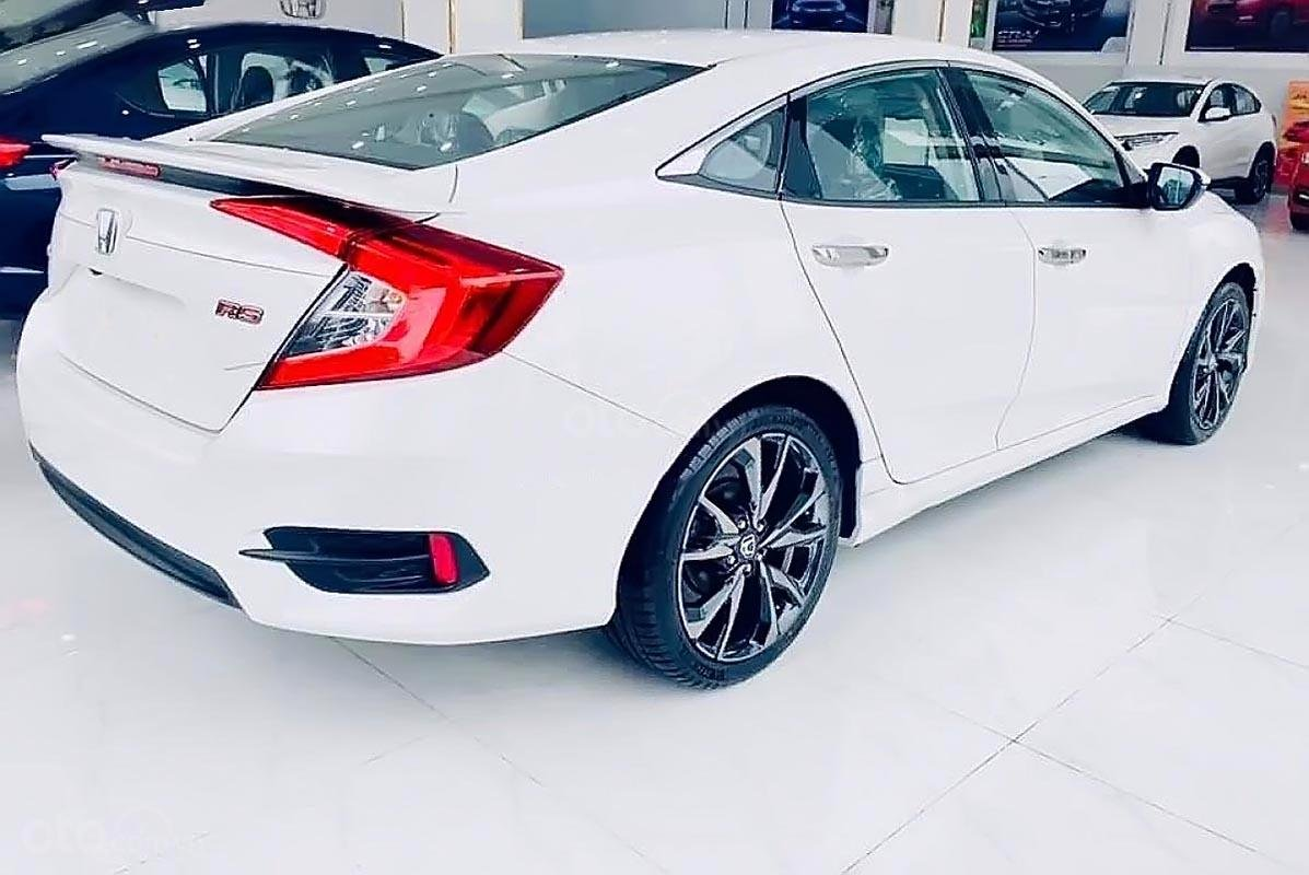Bán xe Honda Civic RS đời 2019, màu trắng, xe nhập  -0