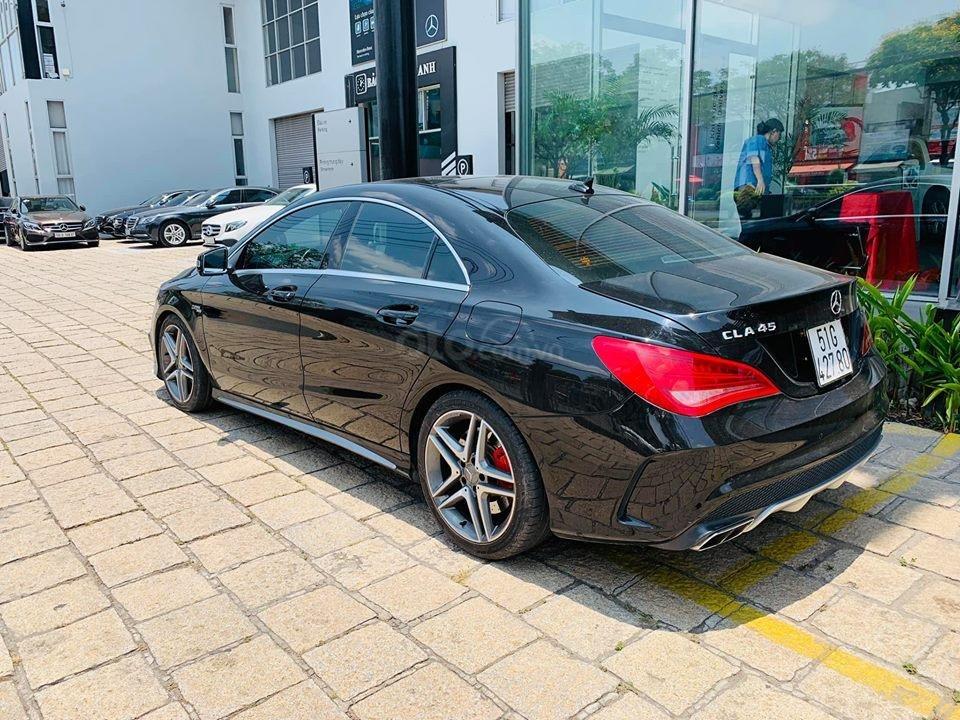 Bán xe Mercedes CLA45 đen nội thất đen 2014 chính hãng, trả trước 450 triệu nhận xe ngay-2