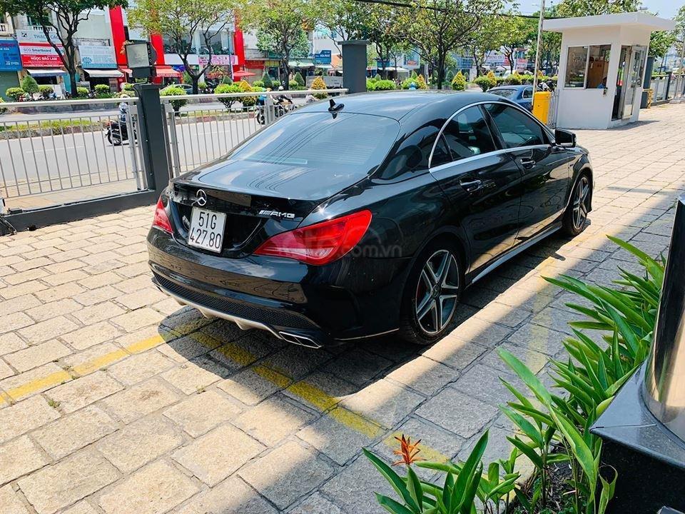 Bán xe Mercedes CLA45 đen nội thất đen 2014 chính hãng, trả trước 450 triệu nhận xe ngay-6