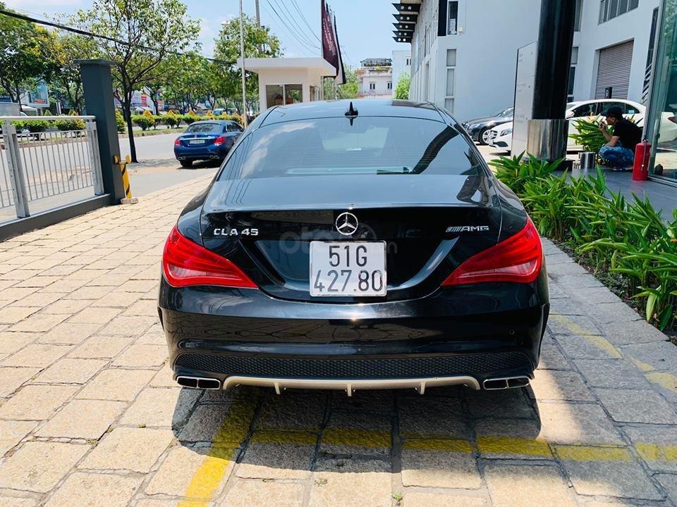 Bán xe Mercedes CLA45 đen nội thất đen 2014 chính hãng, trả trước 450 triệu nhận xe ngay-7