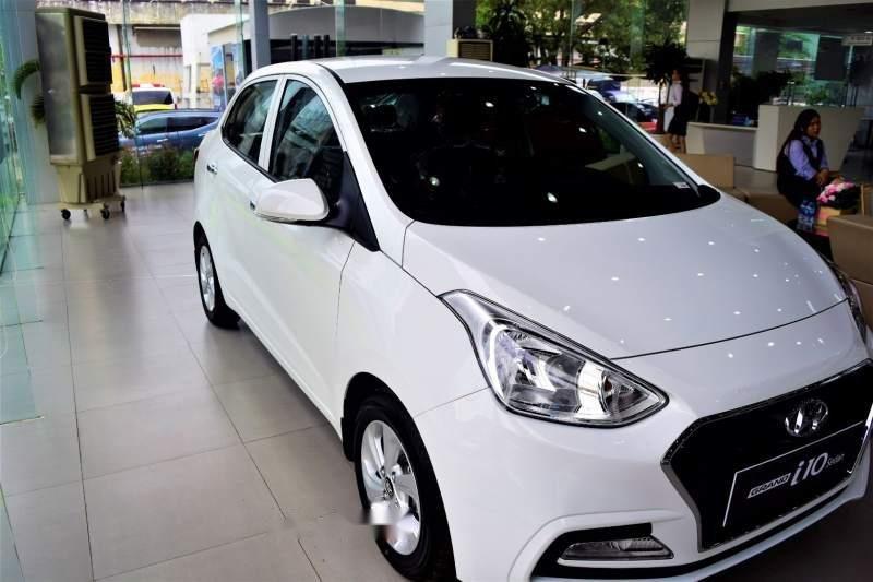 Bán Hyundai Grand i10 năm 2019, màu trắng, giá tốt (2)