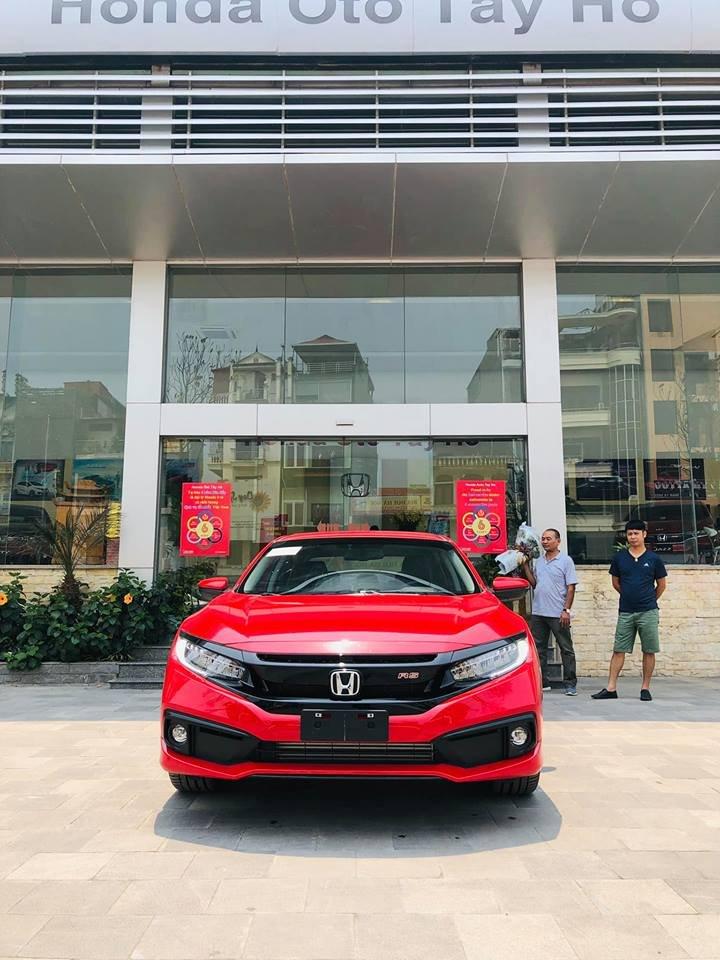 Đánh giá xe Honda Civic 1.5 RS 2019: Đầu xe.