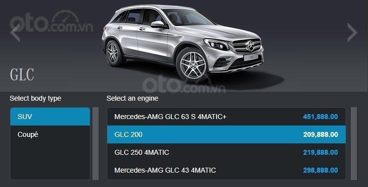 Giá xe Mercedes-Benz GLC tại Singapore ...
