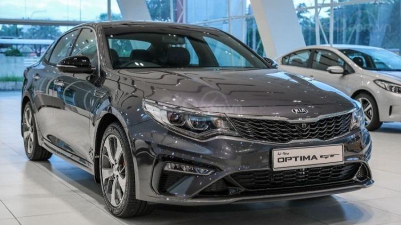 Đầu xe Kia Optima 2019...