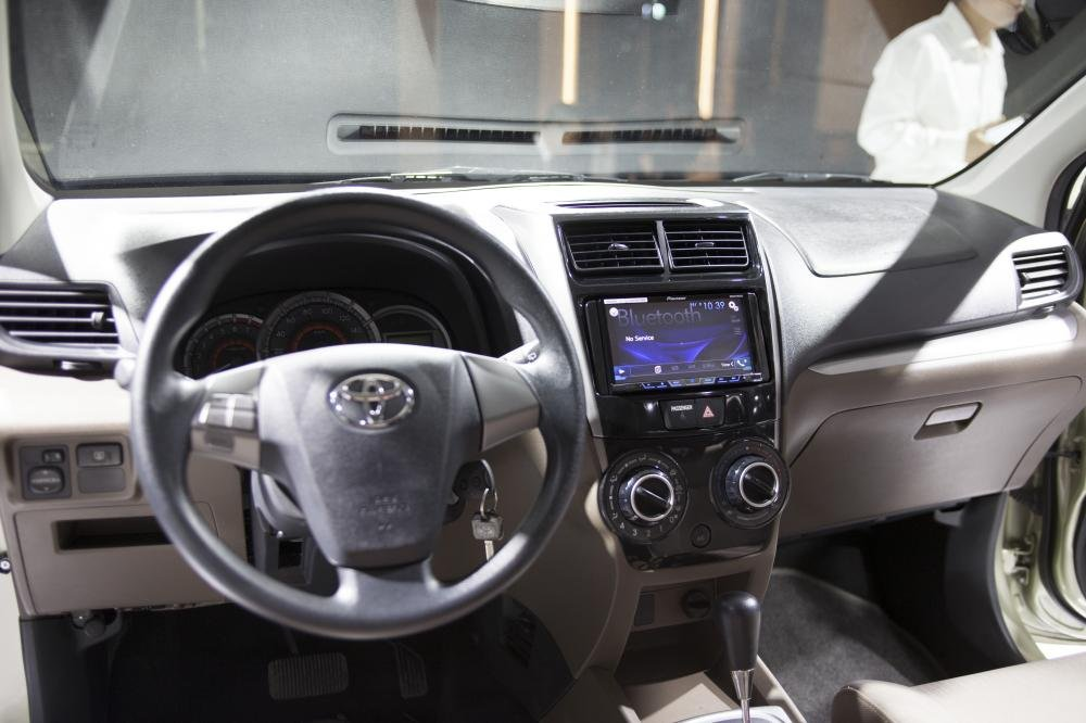 Nội thất Toyota Avanza 2018 hiện đại