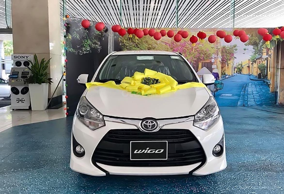 Cần bán Toyota Wigo 1.2G MT năm sản xuất 2019, màu trắng  (1)