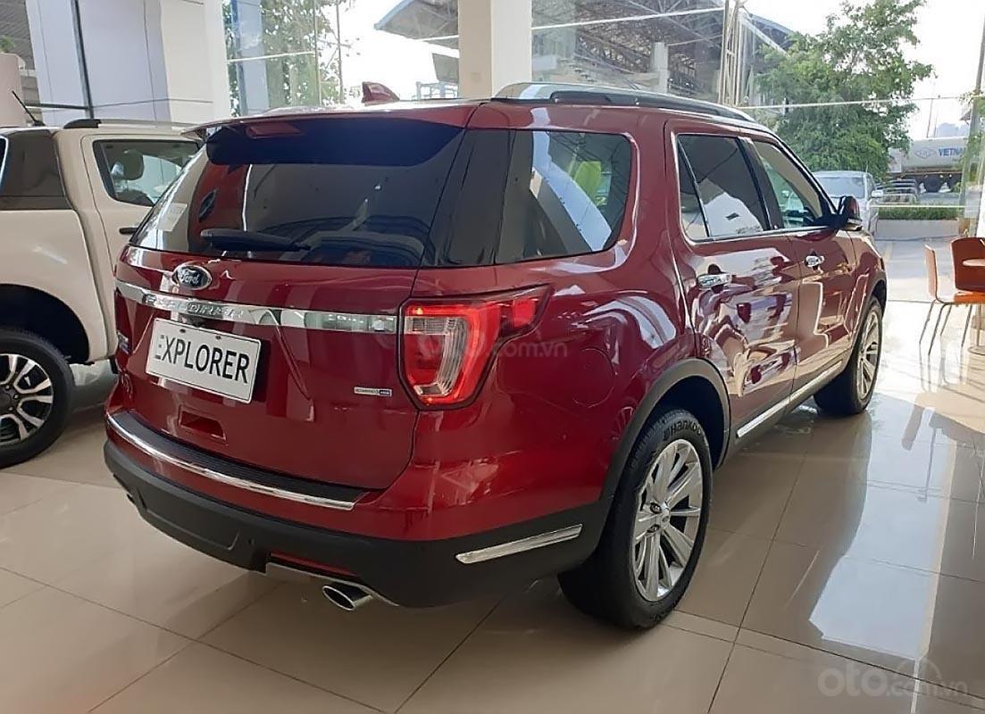 Bán xe Ford Explorer Limited 2.3L EcoBoost sản xuất năm 2019, màu đỏ, nhập khẩu nguyên chiếc-1