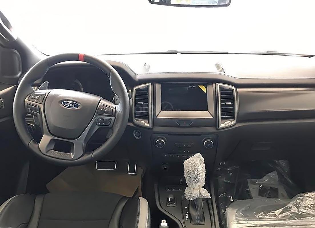 Bán ô tô Ford Ranger Raptor 2.0L 4x4 AT 2019, màu trắng, xe nhập-4