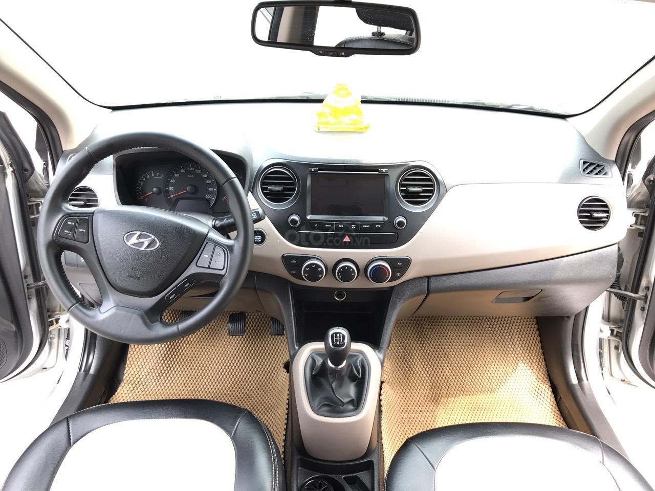 Cần bán xe Hyundai Grand i10 1.2 Sport 2016, màu bạc, nhập khẩu, siêu lướt-5