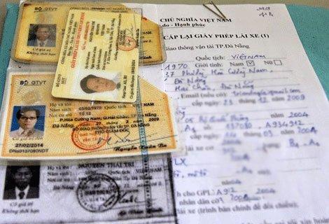 Tổng hợp các loại giấy phép lái xe ô tô và thủ tục xin cấp lại nếu mất 2a