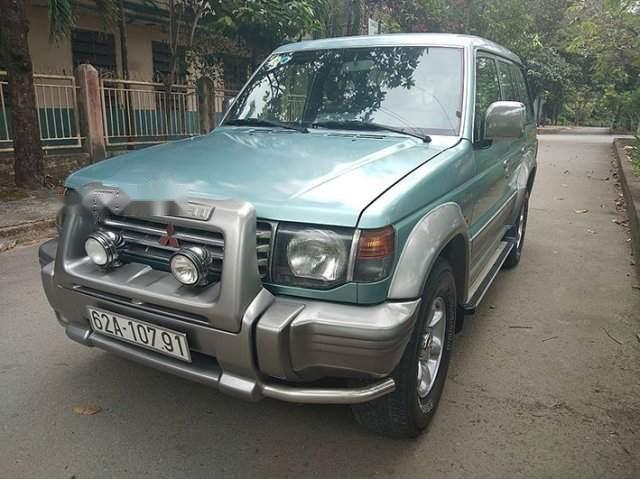 Bán Mitsubishi Pajero năm 2000, màu xanh lam còn mới (1)