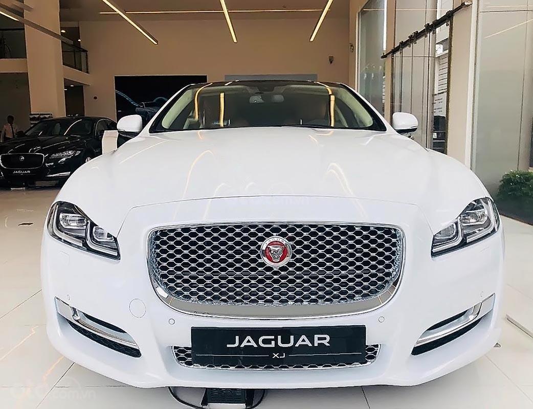 Cần bán Jaguar XJ Porfolio năm 2019, màu trắng, nhập khẩu-0