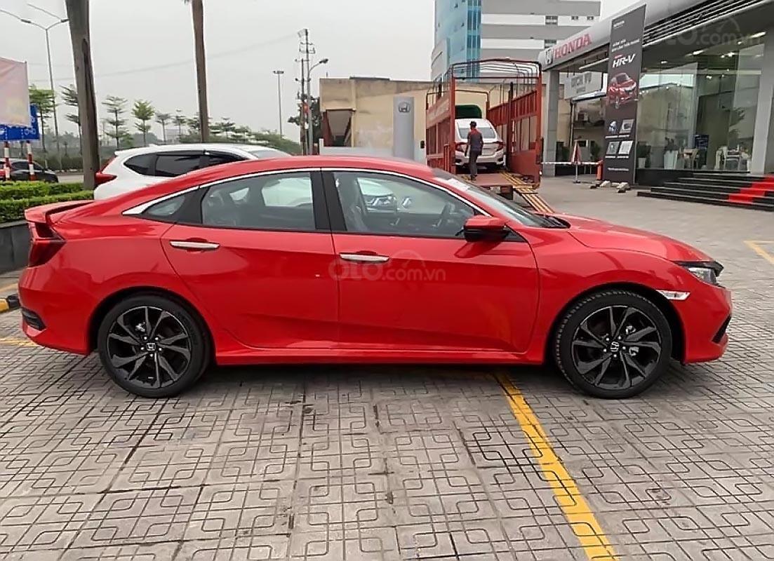 Bán xe Honda Civic RS 2019, màu đỏ, nhập khẩu-0