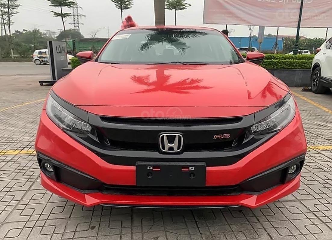 Bán xe Honda Civic RS 2019, màu đỏ, nhập khẩu-1