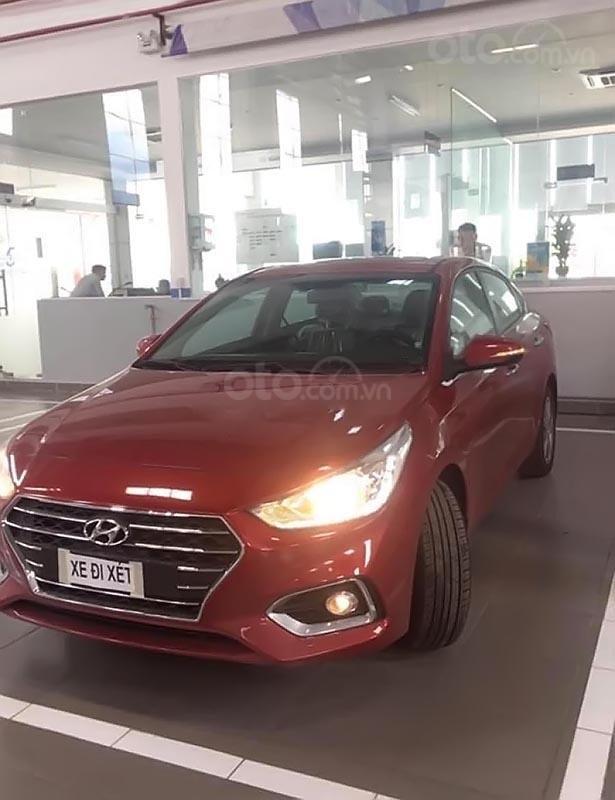 Bán xe Hyundai Accent 1.4 ATH đời 2019, màu đỏ (1)
